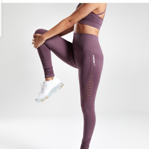 d8b4e1013076b1 Gymshark Pants | Seamless Energy Hw Leggingpurple Wash | Poshmark